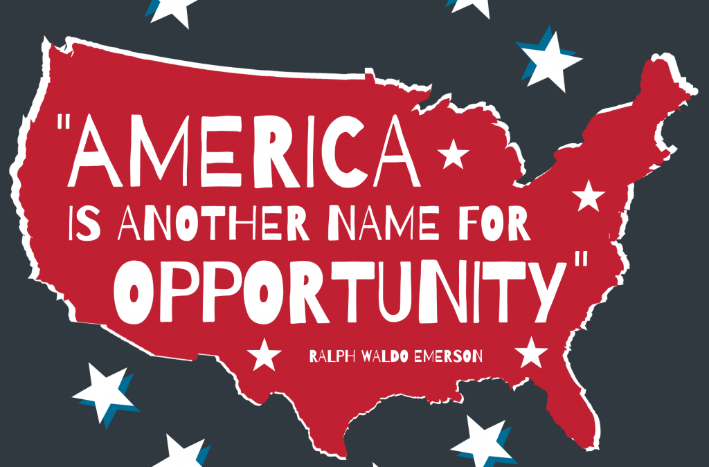 America Is Another Name for Opportunity [INFOGRAPHIC]